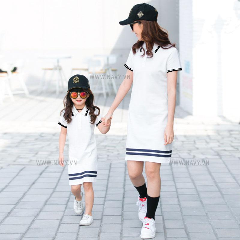 áo váy mẹ và bé